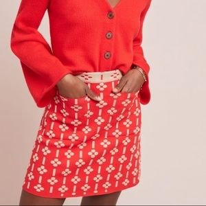 NWT Maeve Quant Mini Skirt Anthropologie XS